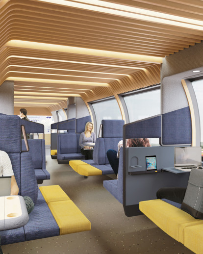 NS Vision Interior Train of the Future