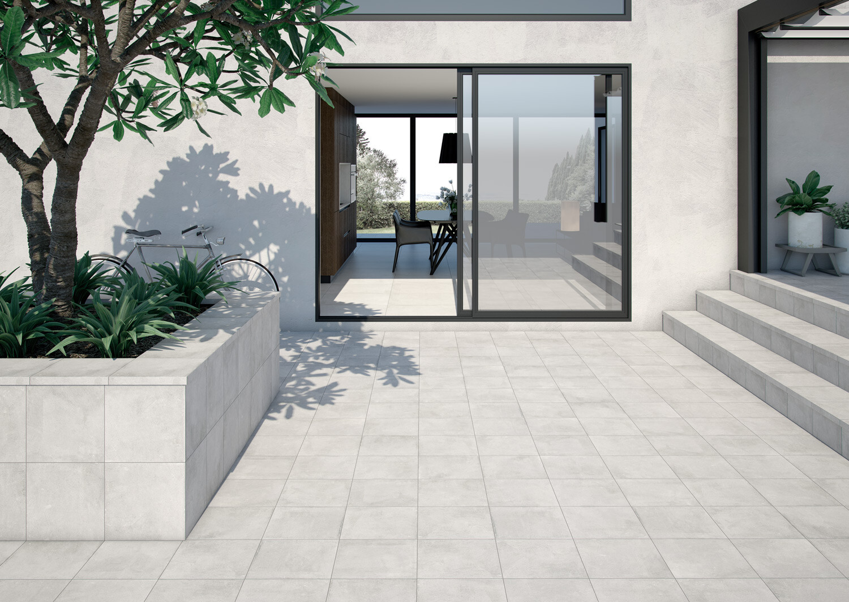 Domus, outdoor floor tiles