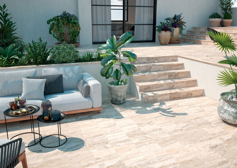 Marbles, outdoor tiles