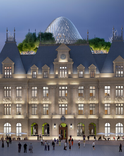 Metamorphosis Of The Hotel Des Postes