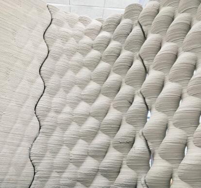 Modular Wall - 3D Betondruck Element