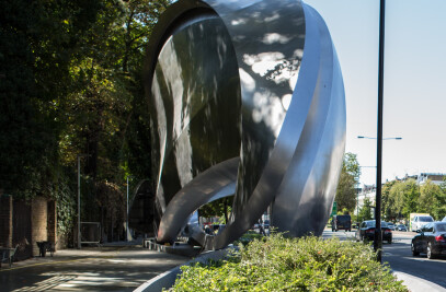 Zaha Sculpture