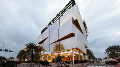 Modern Commercial Building Design Comelite Architecture Structure