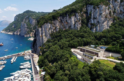 New Terna Electric Station in Capri