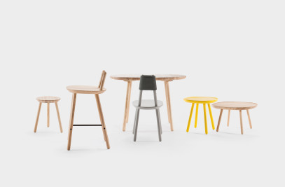 Naïve semi bar stool