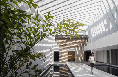 Light Tunnel- Lishui Corporate Office Design