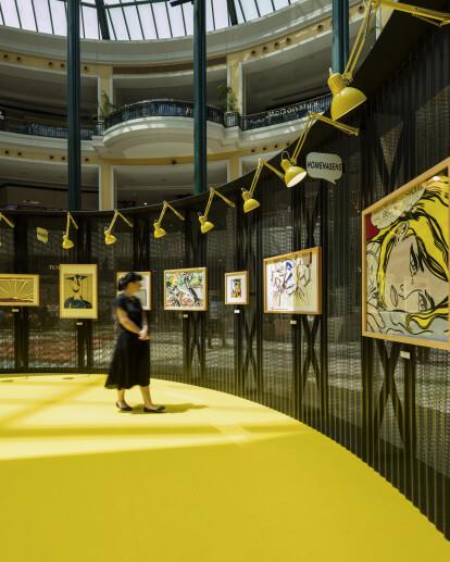 Roy Lichtenstein Temporary Museum