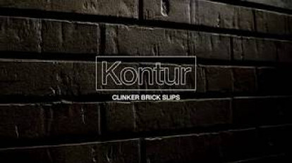 Natural detail perfection: Kontur clinker brick slips in four new colour shades