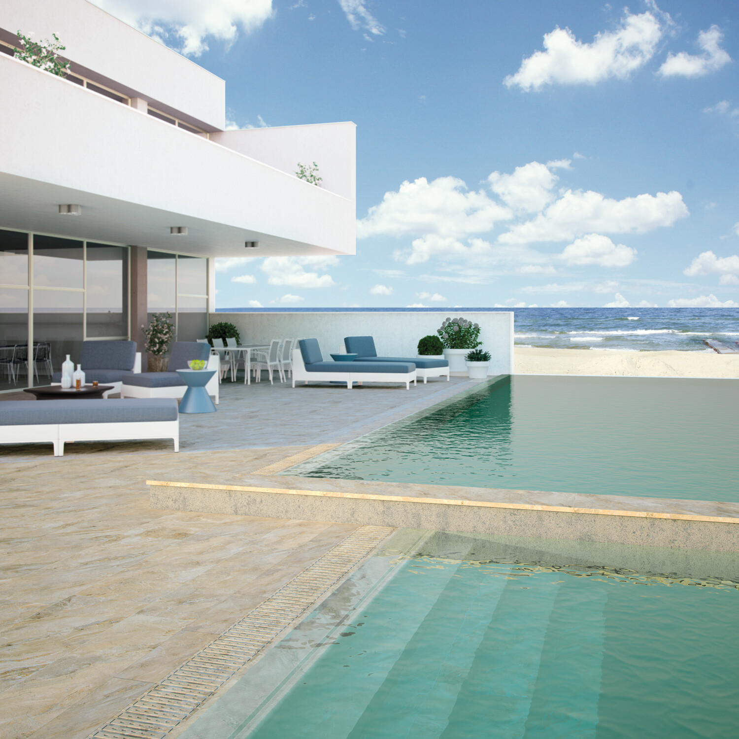 HAWAII COPING POOL SYSTEM