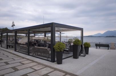 Outdoor area Cava Drink & Restaurant