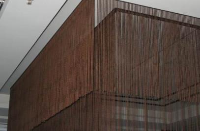 Copper Color Ball Chain Curtain