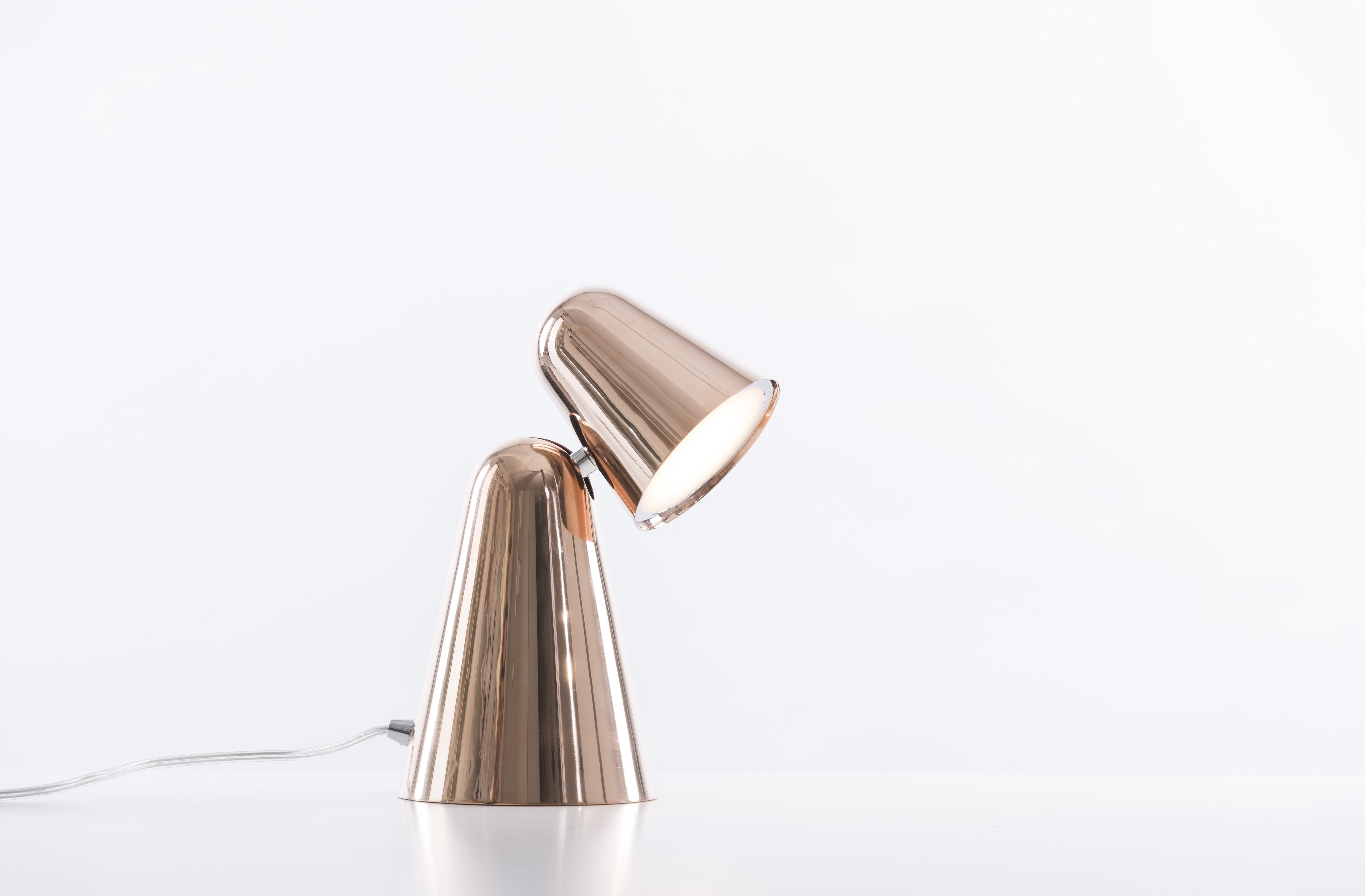 Peppone Table Copper