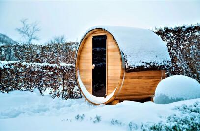 Outdoor Full-Spectrum Infrared Sauna