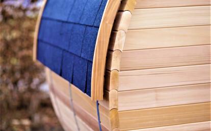 3-person outdoor infrared sauna