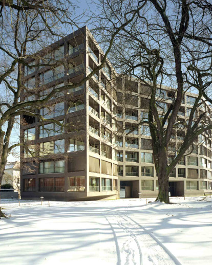 Residential building Schwarzpark