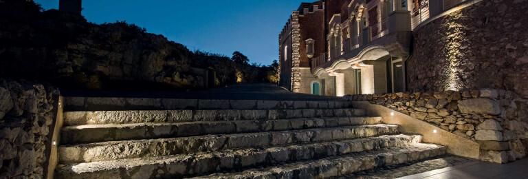 Castello Tafuri Charming Suites, Project: arch. Fernanda Cantone. Light planning: Light Style