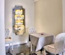 Murano glass wall light for hotel lighting