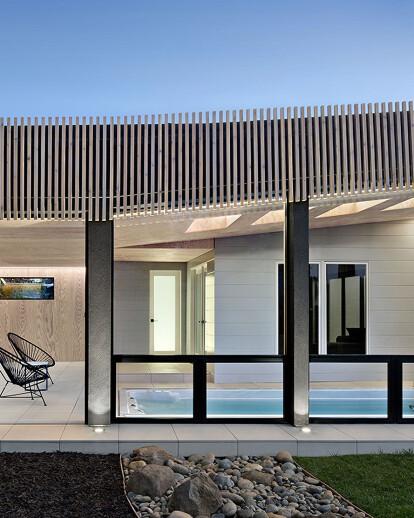 Los Altos Poolhouse