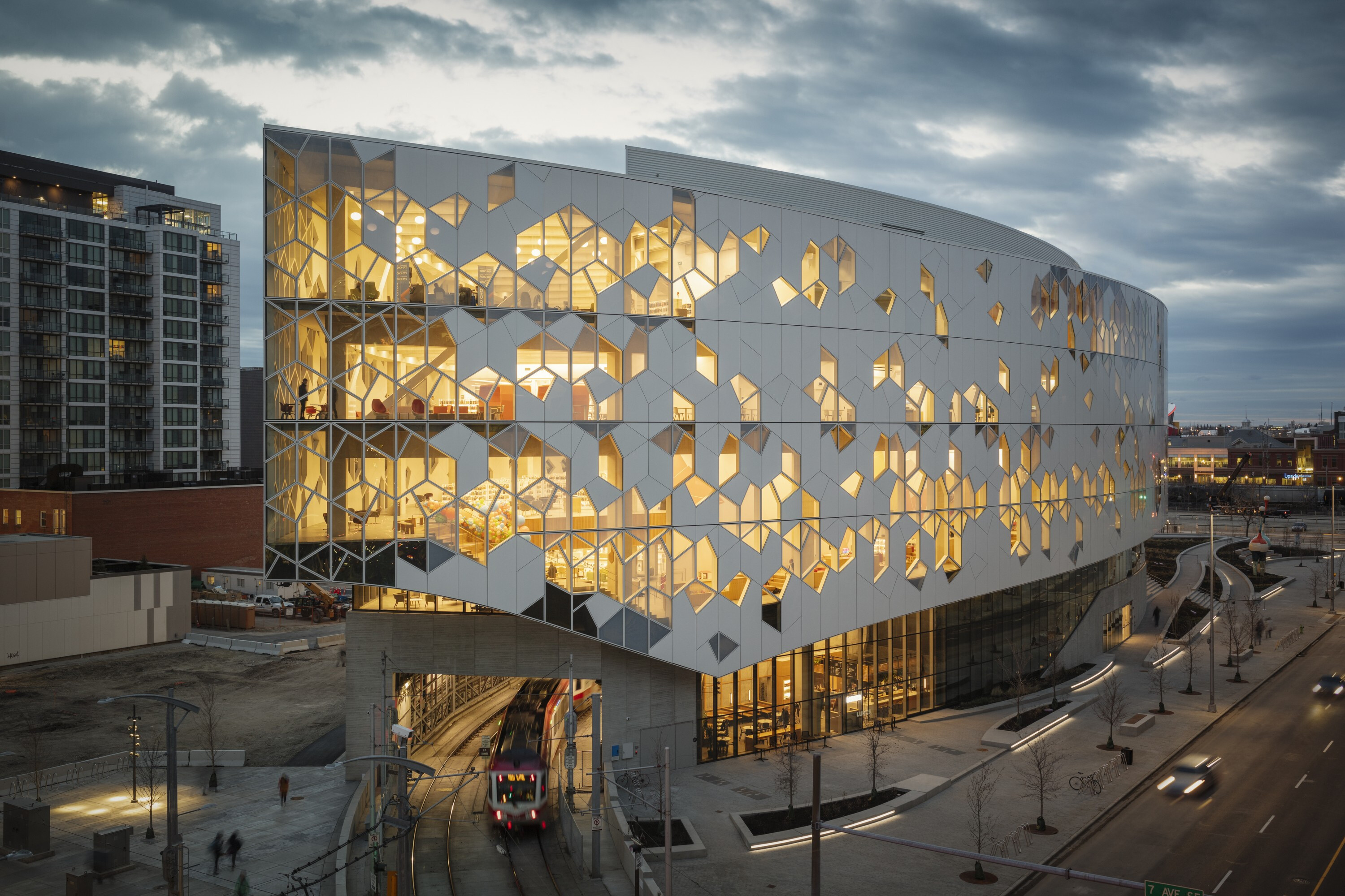 Calgary's new Central Library