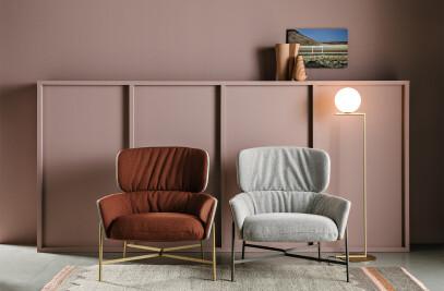 Caristo Lowback Armchair