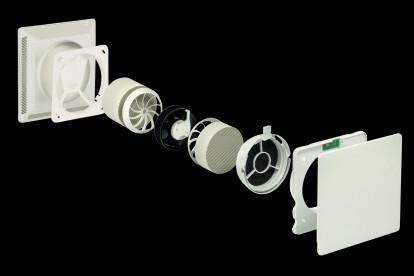 Leaf 1-decentralised ventilation system