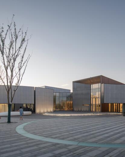 HeFei Fei River Central Smart Garden Library