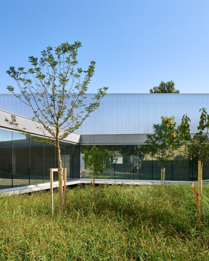'Human Rights' sports centre in Strasbourg