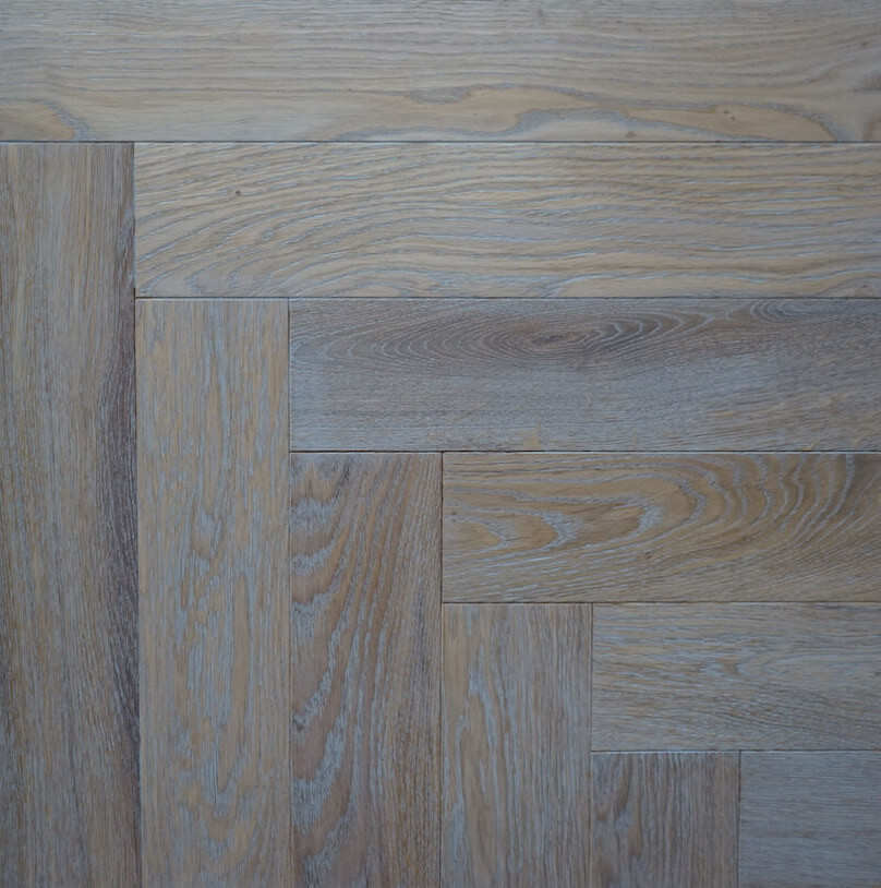 Sky Grey - Parquet Wood Flooring