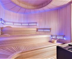 Traditional Sauna With Aromatherapy