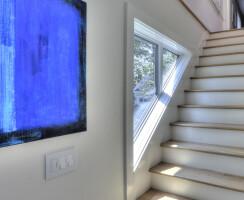 Light filled transitional LEED renovation