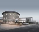 Hakka Cultural Center Main Perspective