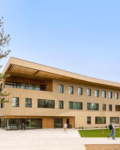 Oregon State University, Cascades- Tykeson Hall