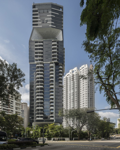 The Scotts Tower in Singapore