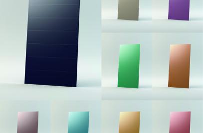 Colorline - CIGS Farbige Solar Module