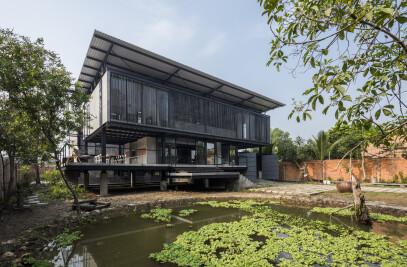 Hoang Tuong house & studio