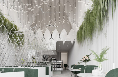 Cisne Lounge Cafe Design