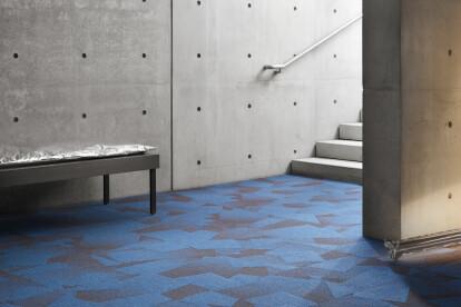 In Motion carpet tile