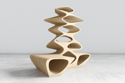 Tree bench