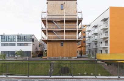 The Wooden Box House