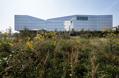 Symbiosis masterplan and Fastweb headquarters