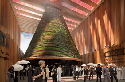 Dutch Pavilion For Dubai EXPO 2020 Unvei