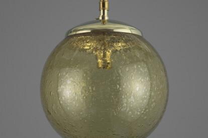 Czech bubble glass pendant lights