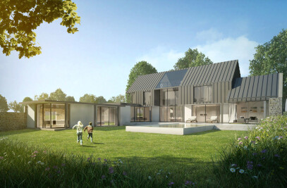 New build eco family home, Surrey