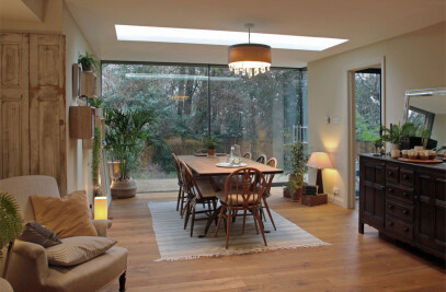Glazed Extension for a 19th Century Home