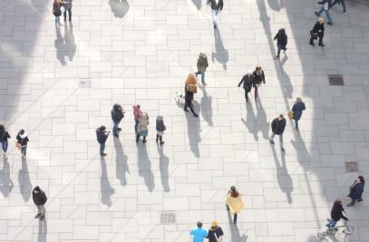 Pedestrian Zone Vienna City
