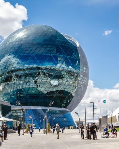 Kazakhstan Pavilion and Science Museum (Nur Alem)