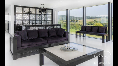 Luis Design - Luxury modern living room Sofa - marble furniture - Villa- www.luis-design.de