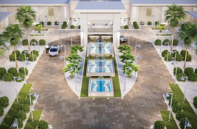 Thumamah Modern Luxury Palace Landscape
