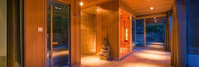 Sauna, Infrared Sauna, Steam Room And Shower