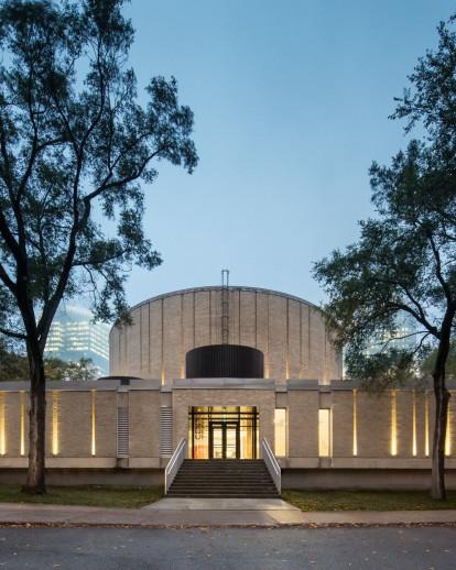 Conversion of ÉTS's Dow Planetarium